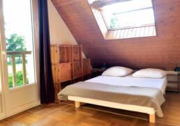 Chambre lit double pour salarié en déplacement près de Saint Nazaire