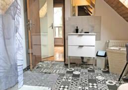 Salle d'eau de la maison à louer près de Montoir de Bretagne