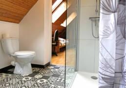 Salle de bain, wc de la location de vacances en Bretagne Sud