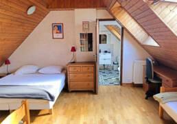 Chambre pour ouvrier en déplacement proche de Saint-Nazaire