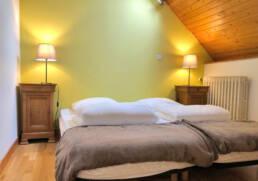 Chambre avec 2 lits simple près d'Airbus et des chantiers de l'Atlantique