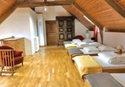 Chambre 5 lits simples de la maison en location près de Cordemais
