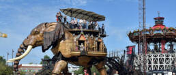 Les Machine de l'île à Nantes près du Gîte du Menhir