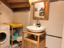 Salle de bain appart hotel St Nazaire