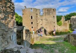 Tours du Château de Ranrouet à Herbignac