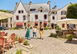 Place des Vieux Quartiers à La Roche-Bernard