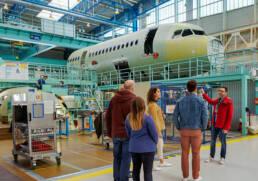 Visite guidée d'Airbus St Nazaire