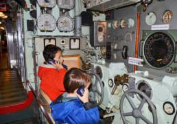 Visite Sous marin l'espadon Saint -Nazaire