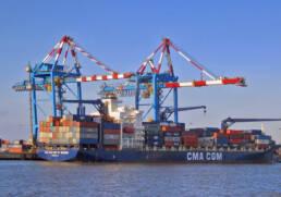 Port maritime de St Nazaire