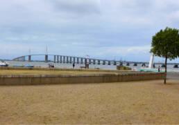 Vue du Pont de St Nazaire côté St Brévin