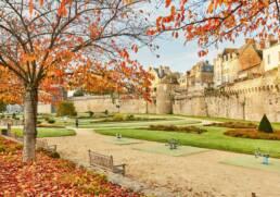 Jardin des Remparts de la ville de Vannes